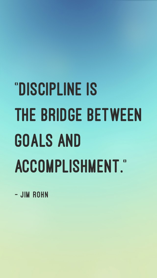 discipline quotes wallpapers quotesgram