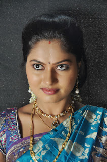 Suhasini Latest Photos Saree at Rough Movie Location
