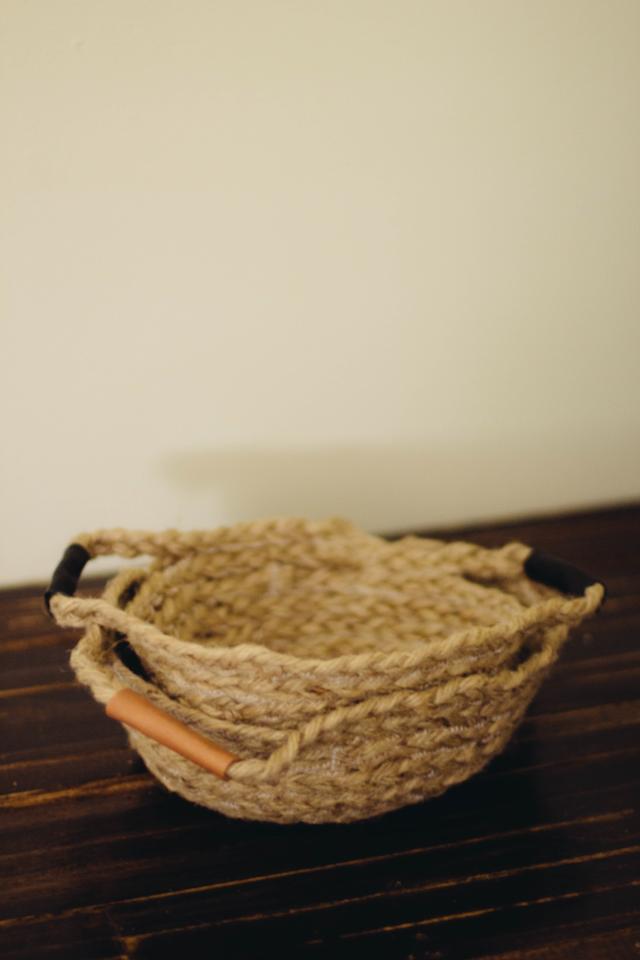 Basket Making Jute : Always rooney braided jute basket