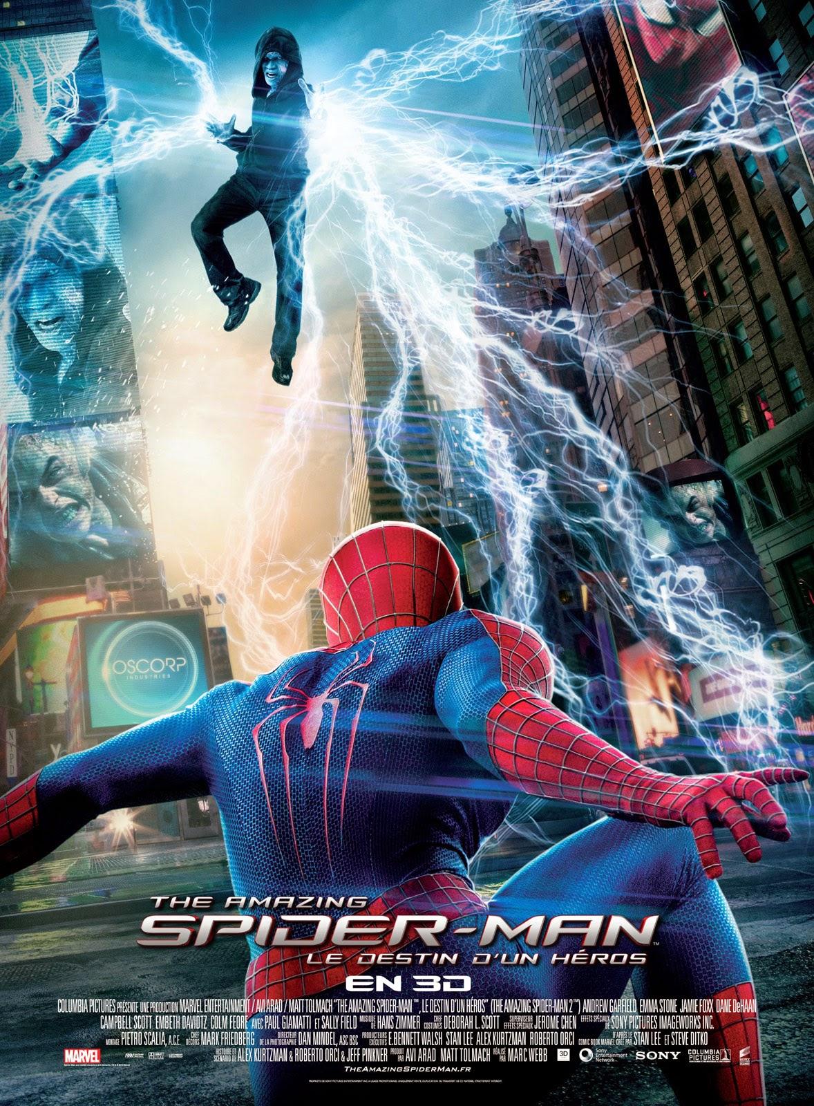 Regarder The Amazing Spider-Man 2 en streaming