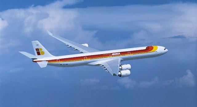 Iberia Airlines.