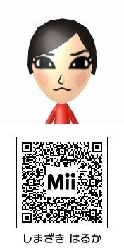 島崎遥香のMii QRコード トモダチコレクション新生活