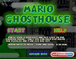 Games Super Mario Ghosthouse