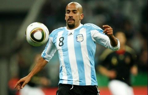 juan sebastian veron pallone amico argentina