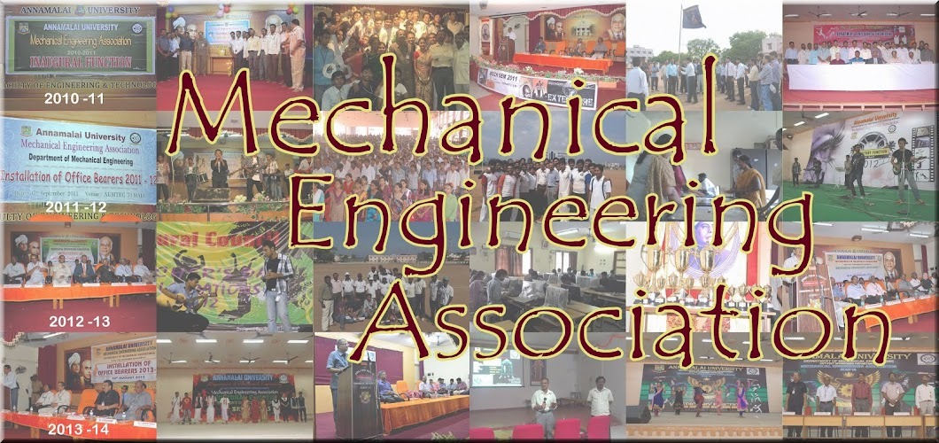 Mechanical Engineering Association Annamalai University