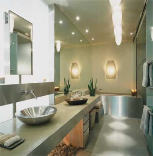 House Of Furniture: Beautiful Bathroom Design Which Will Accompany You Every Day