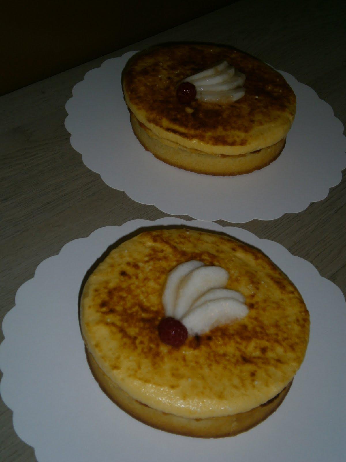 Caliethancuisine tarte aux poires chiboust recette cap for Resultat cap cuisine