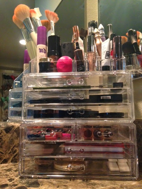 Cosmetique Collection MakeUp Organization Dallas Beauty Blogger Hautelook