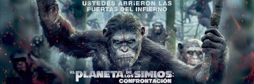 El Planeta de los simios movie poster