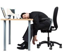 dormir oficina