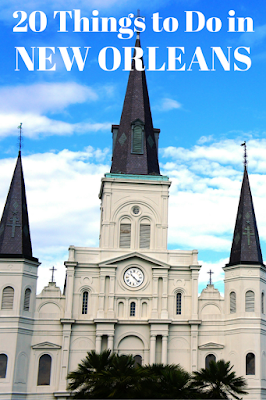 Travel the World: Top 20 things to do in New Orleans for a weekend getaway or a week-long vacation to NOLA.