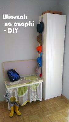 wieszak do przedpokoju DIY