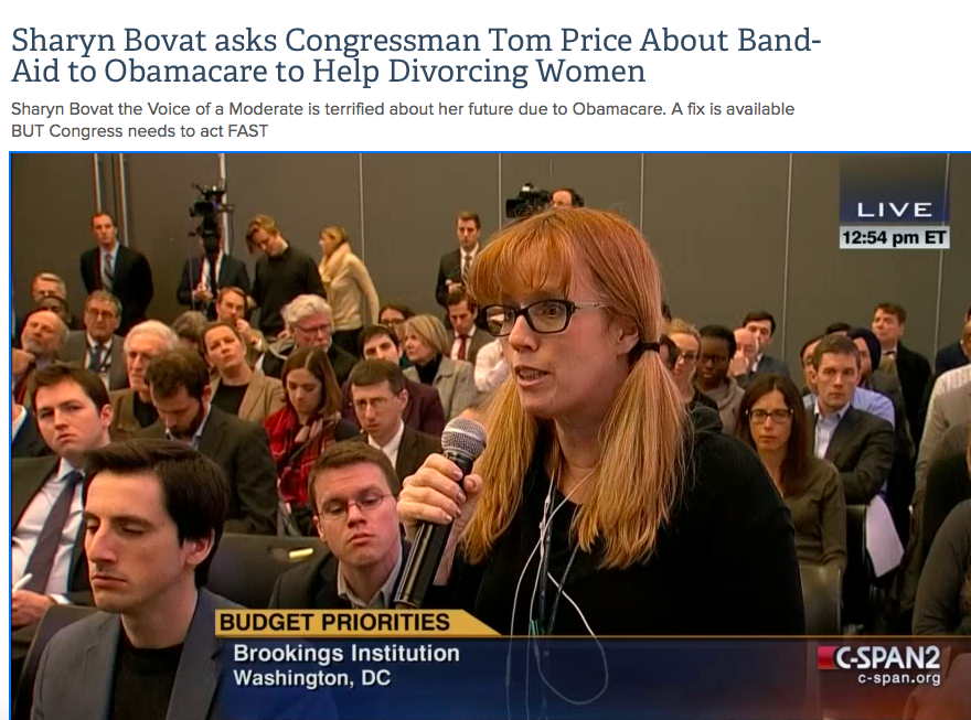 Asking Obamacare Questions That Matter to the Middle Class Moderates at Brookings Institute
