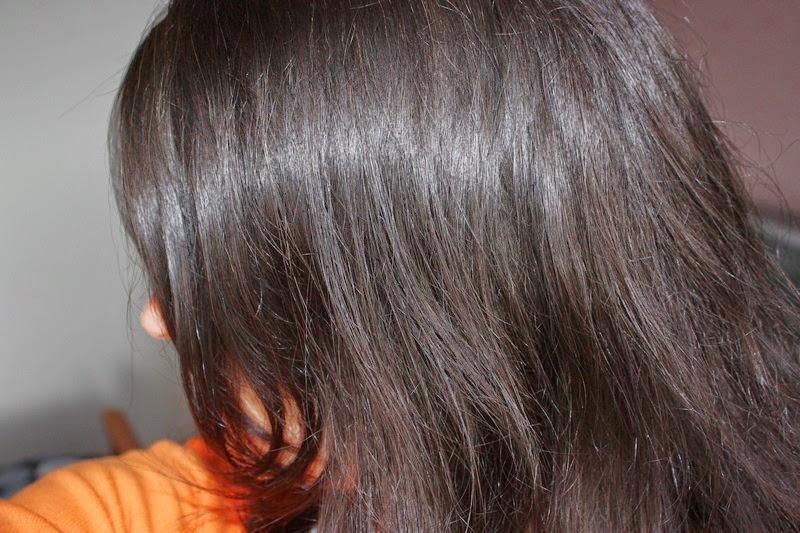 cest un peu plus fonc du coup mais les cheveux blancs sont parfaitement recouverts et surtout pas de reflets rouquins cest pas que jaime pas hein - Coloration Eos