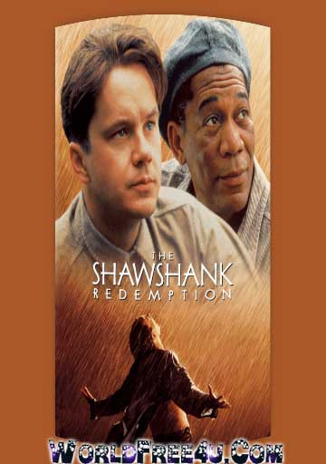 Poster Of The Shawshank Redemption (1994) Full English Movie Watch Online Free Download At Downloadingzoo.Com