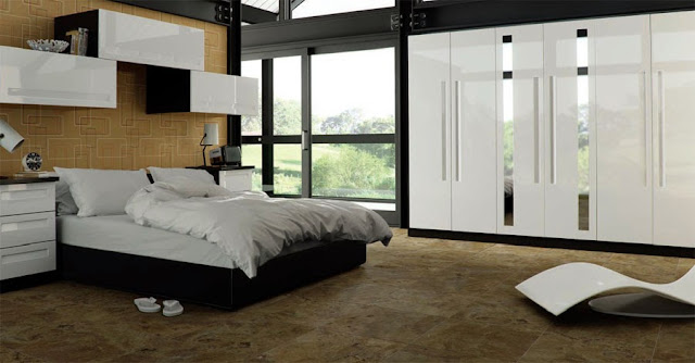 White Gloss Fitted Bedrooms