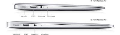 Ultrabook terbaru - Port adapter pada McBook Air