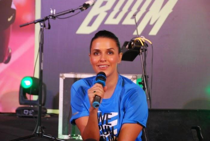 Neha Dhupia attends NIKE Marathon Event Stills