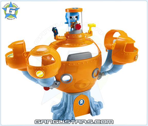 the Octonauts オクトノーツ Barnacles Octopod Steering Deck Fisher-Price toys キャプテン・バーナクルズ