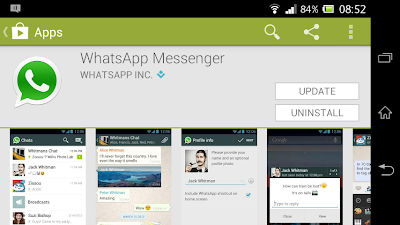 WhatsApp error solved