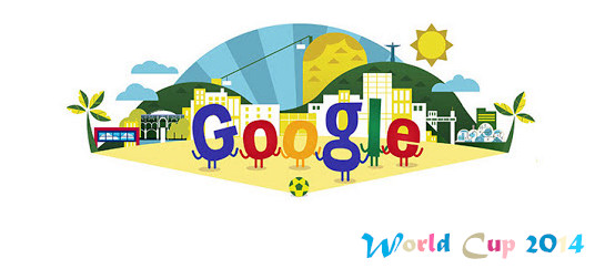 Google Doodle World Cup 2014 Brazil