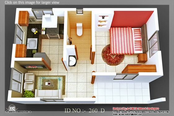 3d isometric view 07