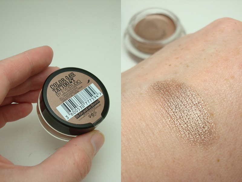 """On an on Bronze"" Color Tattoo von Maybelline"