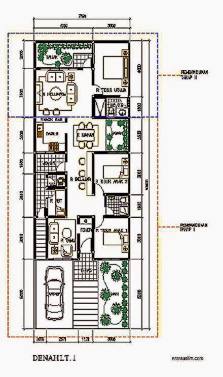 Gambar Denah Rumah Type 36 Ukurannya  Desain Rumah Minimalis 2015