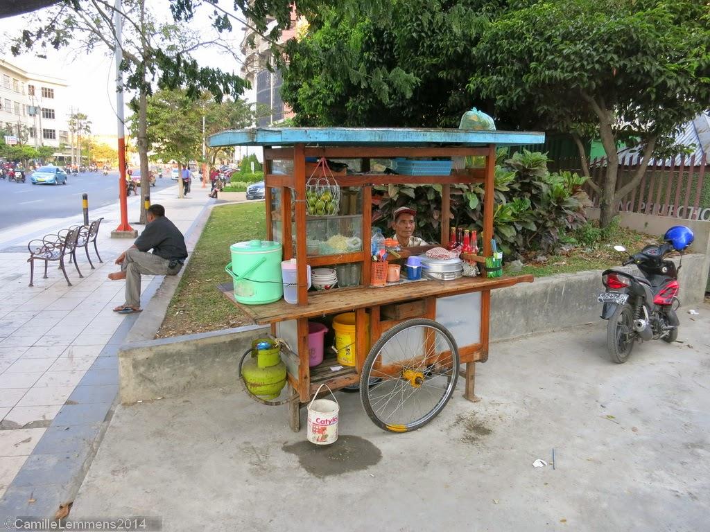 Noodles in Surabaya, Indonesia