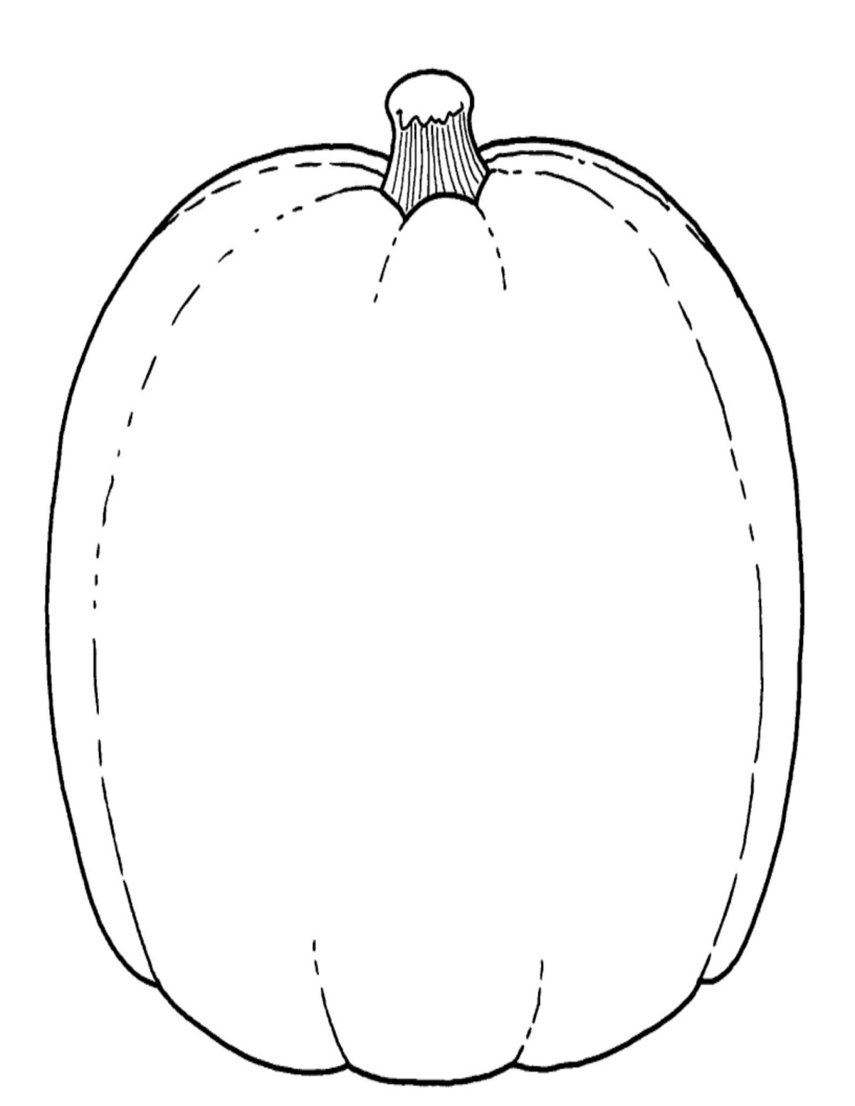 pumpkin cut out coloring pages - photo#9