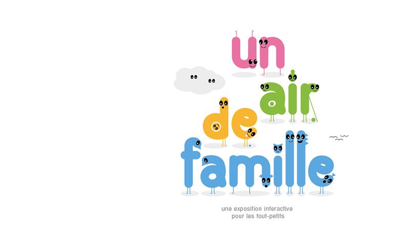 exposition La famille creation pour enfants