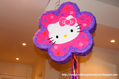Hello Kitty pinata from Party City