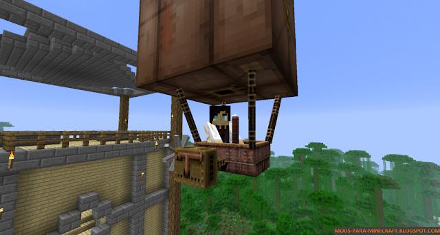 SteamShip Mod para Minecraft 1.7.2/1.7.10