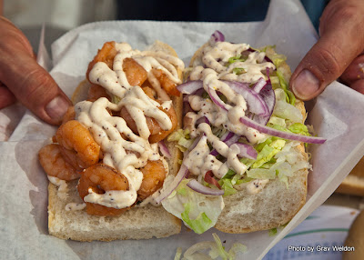 Anita enjoyed a fantastic catfish po'boy the other day at our favorite ...