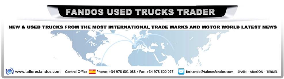 FANDOS USED TRUCKS TRADERS. TRUCKS FOR SALE. TERUEL. SPAIN