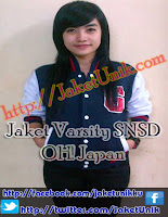 J-Fleece jaket varsity snsd oh girls generation Online Murah