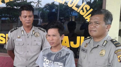 Penjambret Kawasan Plaju, Diborgol Polisi di Depan Calon Istri