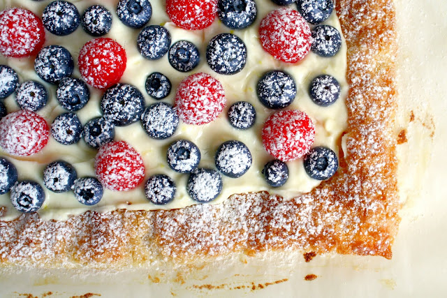 Summer Berry Puff Pastry Tart