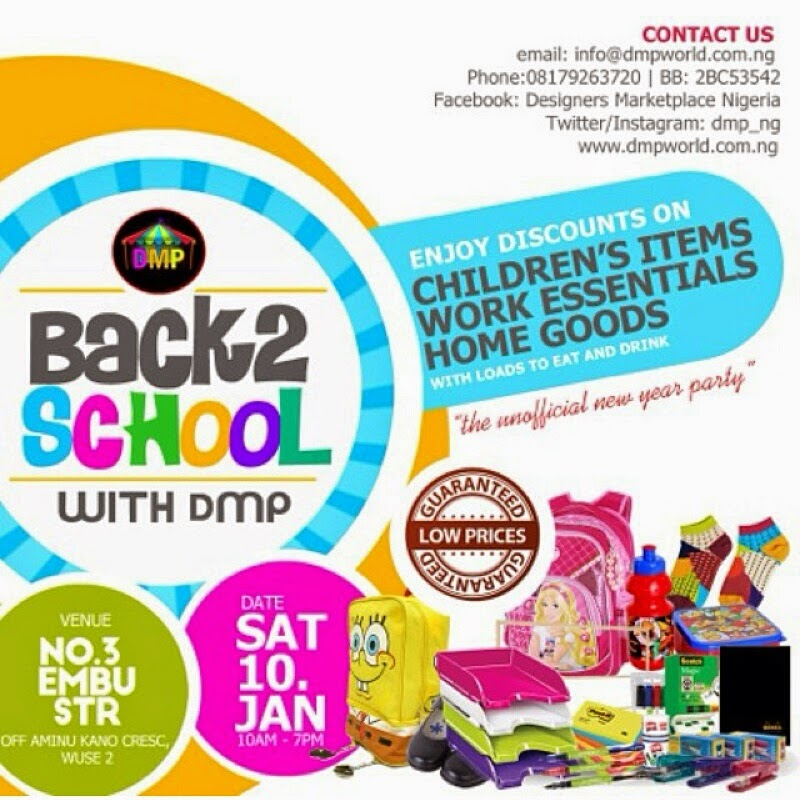 Back To School Shopping Fair