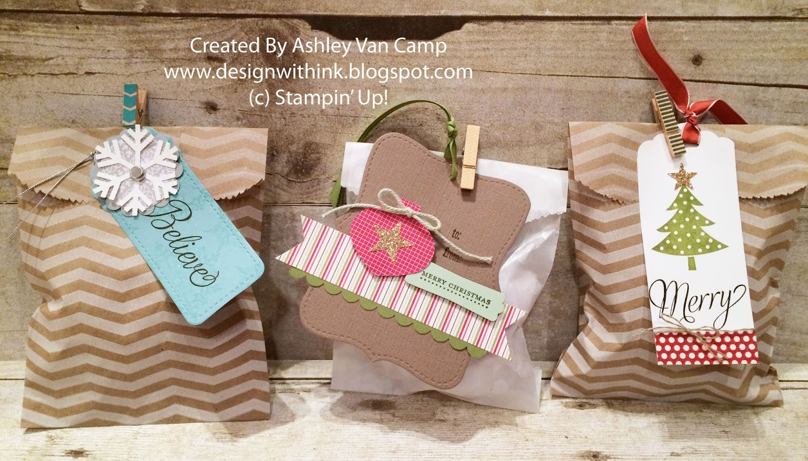 For easy present wrapping just add them