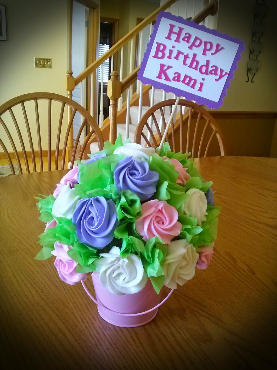 Simply Sweet: Cupcake Flower Pot