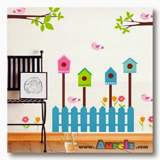 bird house fench AY885