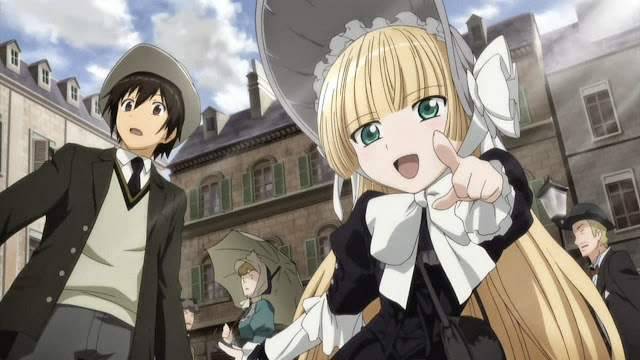 Recommended anime Detective/Mystery Gosick