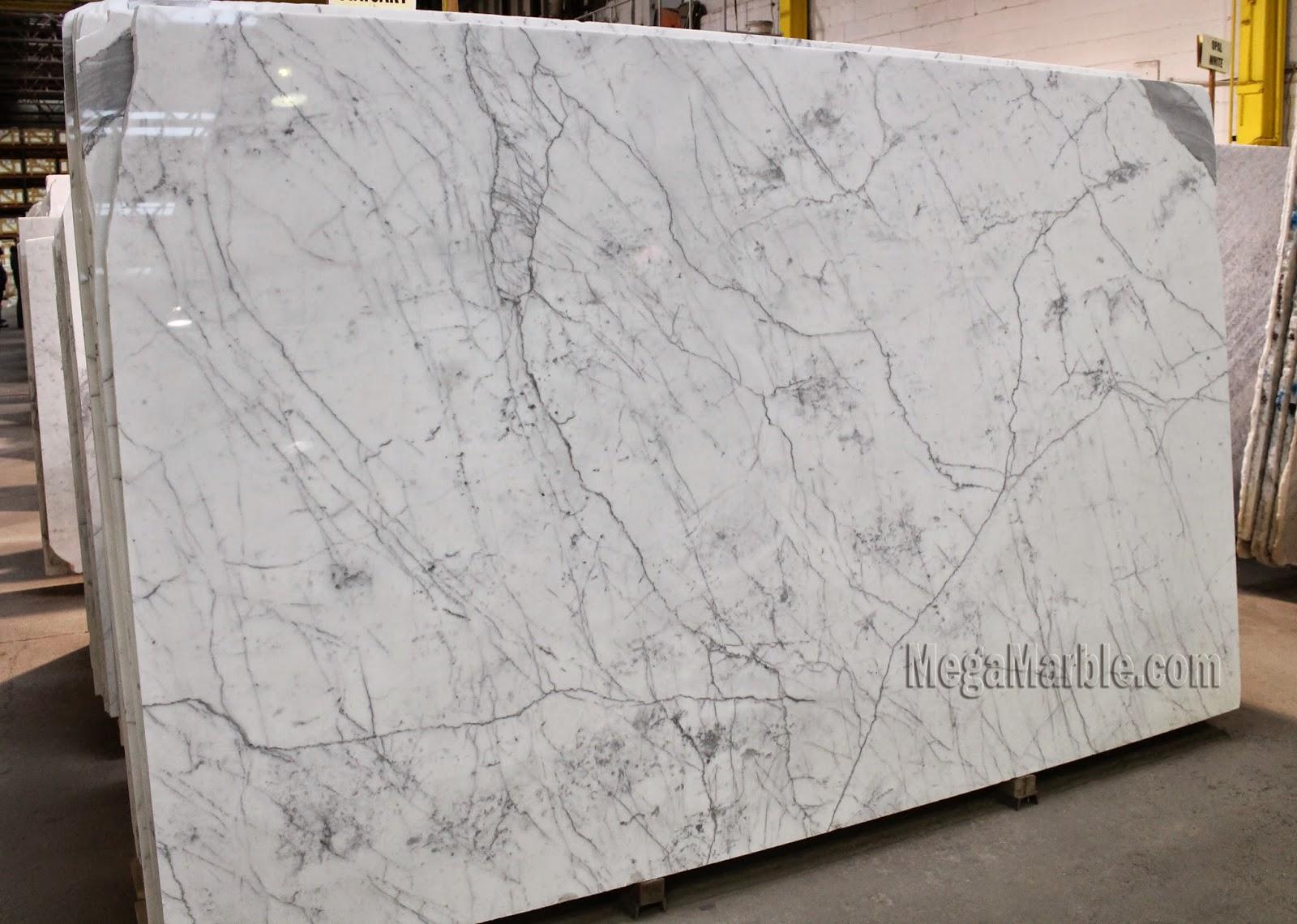 Stone Slab Countertops : White marble countertops nj