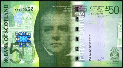 Bank of Scotland 50-Pound