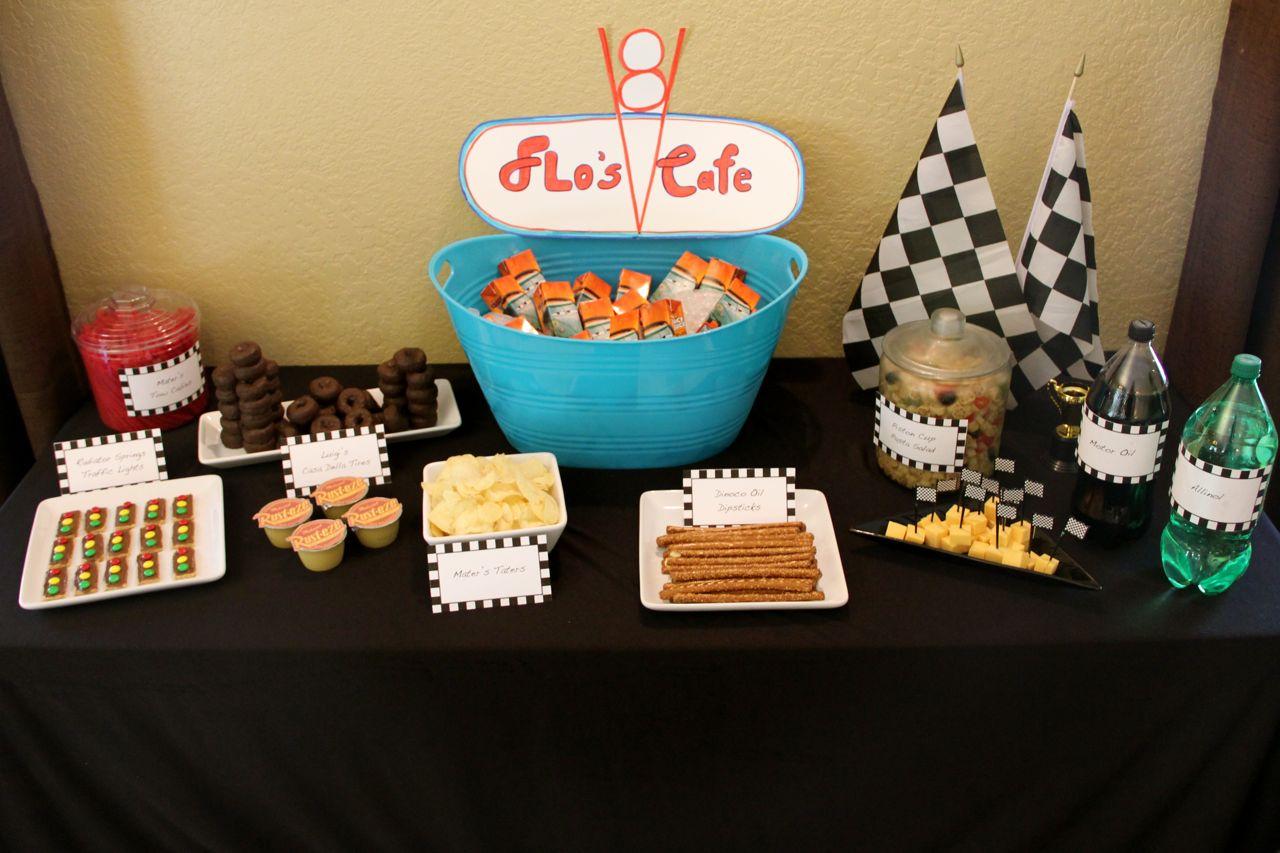 Cars Theme Party Food Ideas