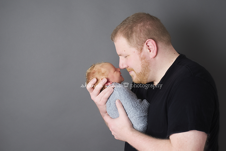 eugene, or newborn photography dad nose