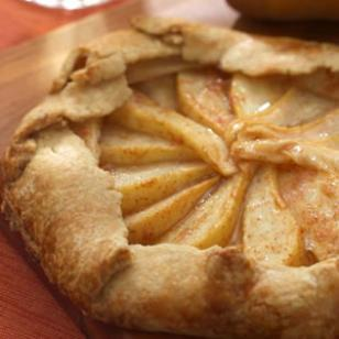 The wife of a dairyman churned in cali easy pear tart for Apple pear recipes easy
