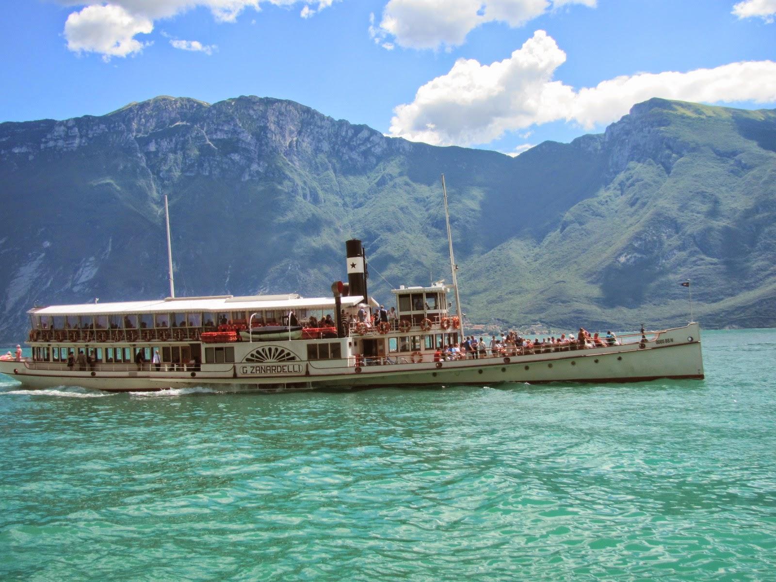 Turismo y noticias del mundo lago di garda italia un for Grosso pesce di lago