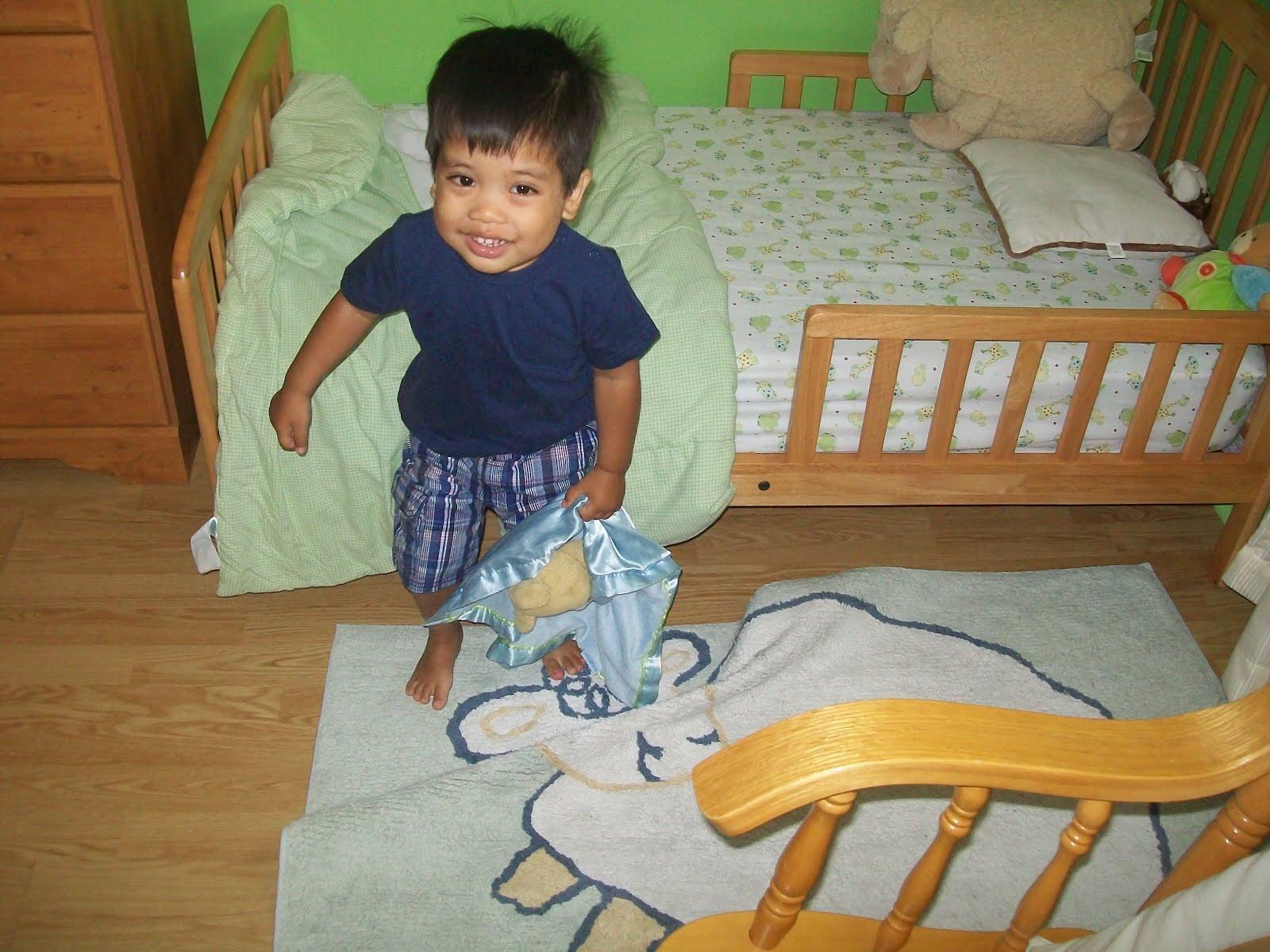 lit bebe 14 mois